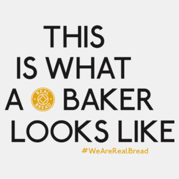 This Is What A Baker Looks Like - Womens White Organic T-Shirt Design